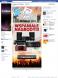 Wybory do Parlamentu Yamaha 2011 - Landing Page zachęcający użytkownika do polubienia strony Fan Page.